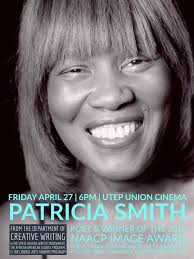 Poet Patricia Smith to Speak April 27 at UTEP