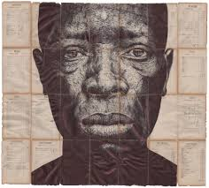 Monumental Ballpoint Pen Portraits Are Rendered on Vintage Collateral by  Artist Mark Powell | Colossal