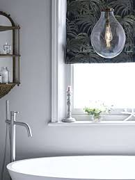 using designer lighting in a bathroom