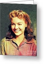 Wanda McKay, Vintage Actress Painting by Esoterica Art Agency