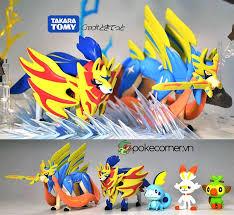 Hình Ảnh Hình ảnh Mô hình Pokémon Sword Shield và Galar Starters
