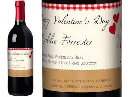 gifts personalised french vdp red