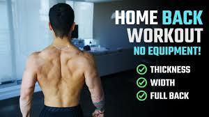 no weights no pull up bar