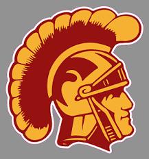 Usc Trojans Logo 6 Vinyl Decal Bumper Sticker Ncaa College Football Ebay