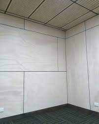 whitewased plywood for steel shed can