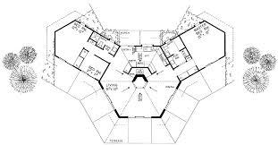 home plans floors hexagons houses ideas