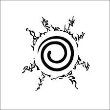 Naruto Seal Logo Decal Sticker Car