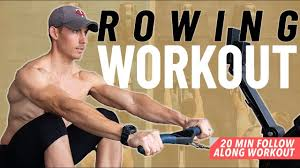 rowing workouts the perfect beginners