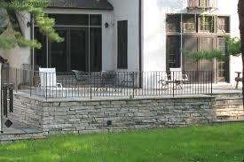 raised bluestone patio patio stones