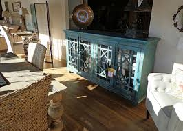 antique buffet cabinet in nice paint