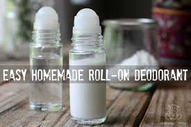 homemade roll on deodorant