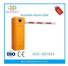 Hot Item Jkdc Bg102d Automatic Boom Arm 2 Fences Parking Traffic Barrier Gate For Parking Security System Security System Barrier Gate