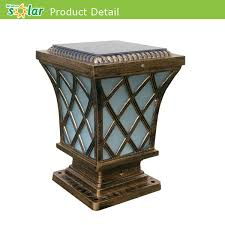 Commercial Application Solar Powered Led Fence Post Lights Jr Cp12 China Manufacturer