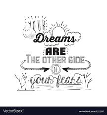 encourage quotes design royalty vector image