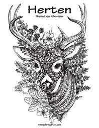Herten Kleurboek Voor Volwassenen 1 By Nick Snels Paperback