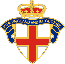 England Car Sticker For England And St George