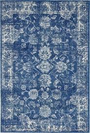 dark blue 4 x 6 heritage rug area