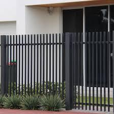 China Slat Bar Fence Vertical Steel Slat Fence Garden Fence Panel Aluminum Radiator Slat Fence China Fence Fence Panel