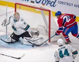 Aaron Dell, San Jose Sharks top Montreal Canadiens