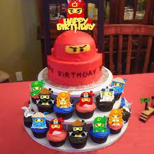 Amazon.com: ANGOLIO 49Pcs Ninja Cake Toppers, Ninja Themed Party ...