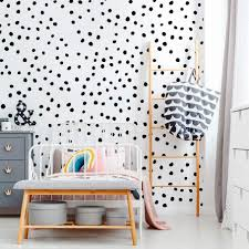 Black Circle Wall Decals Colour Floral And White Art Panther For Nursery Star Cat Flower Vamosrayos