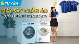 Các loại máy sấy quần áo • Điện máy XANH - YouTube