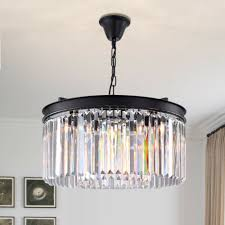 5 lights modern contemporary crystal