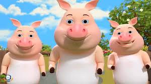 Con lợn éc - Con heo - Ba thương con - LK nhạc thiếu nhi - YouTube
