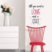 Dwpq2902 Love And A Pet Wall Decal By Wallpops