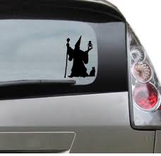 Vinyl Car Decal Wizard Merlin Sorcerer Decal For Etsy