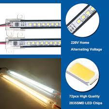 Đèn LED thanh 220v 120cm 16w chiếu hắt tủ kệ trang trí cao cấp TL-AC01