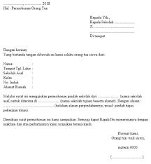 Berbagai Contoh Surat Permohonan Yang Baik