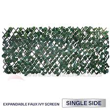 Windscreen4less Artificial Leaf Faux Ivy Expandable Stretchable Privacy Fence Screen Single Sided Leaves On Galleon Philippines