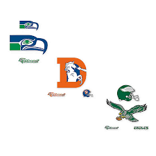 Fathead Nfl Classic Logo Large Wall Decal Collection Bed Bath Beyond