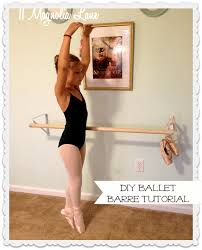 another diy ballet barre for my