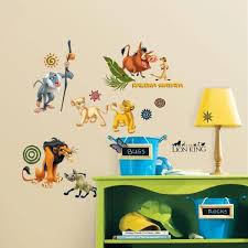 Roommates The Lion King Peel And Stick Wall Decal Rmk1921scs The Home Depot