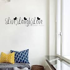 Simple Word Live Laugh Love Wall Sticker Vinyl Funny Text Wall Decal For Bedroom Living Room Home Decor Wallpaper Cn037 Wall Stickers Aliexpress