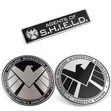 Avengers Agents Of Shield 3d Chrome Car Metal Sticker Badge Emblem Decal Ebay