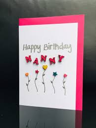 happy birthday nanny card card for nanny nan birthday birthday