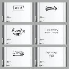 Laundry Decal Laundry Sticker Laundry Room Door Decal Art Etsy