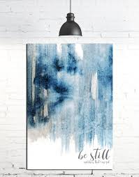 be still and know that i am god contemporary art canvas quotes