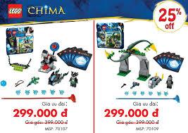 Giảm giá cực Shock đồ chơi LEGO CHIMA