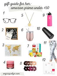 gift guide for her amazon under 50