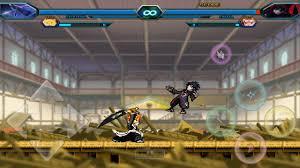 Naruto vs Bleach Moded 3.3 True Bankai Ichigo Vs Akatski Saskue ...