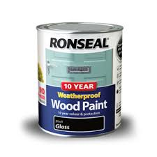 10 Year Weatherproof Wood Paint Ronseal