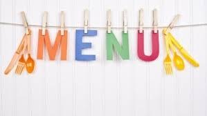 Risultato immagini per menu mensa scolastica