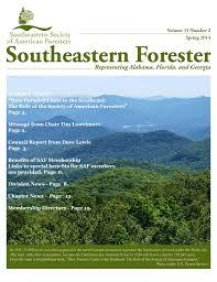 SESAF Spring 2014 Newsletter - Southeastern Society of American