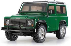 Amazon.com: Tamiya 58657 Land Rover Defender 90 4WD Assembly Kit ...