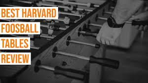 harvard foosball tables review 2020