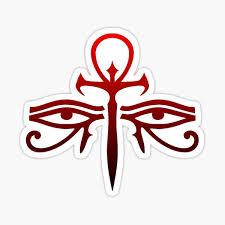 Eye Of Ra Horus Eye Sticker By Darkanime1 Redbubble